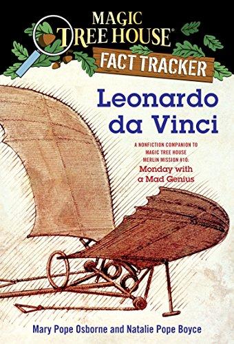 9780375846656: Leonardo da Vinci: A Nonfiction Companion to Magic Tree House Merlin Mission #10: Monday with a Mad Genius