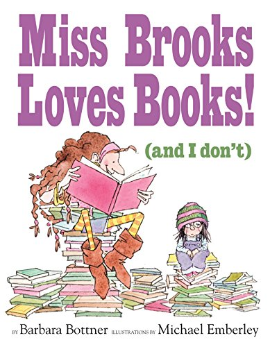 9780375846823: Miss Brooks Loves Books (And I Don't)