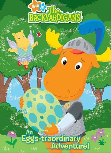9780375847363: The Backyardigans: An Eggs-Traordinary Adventure! (Deluxe Coloring Book; Nick Jr. the Backyardigans)