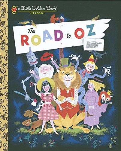 The Road to Oz (Little Golden Book): Baum, L Frank