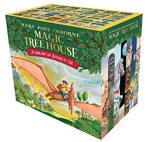 9780375849916: Magic Tree House Library Books 1-28