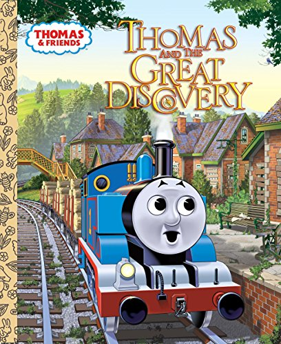 9780375851537: Thomas and the Great Discovery (Thomas & Friends) (Little Golden Book)