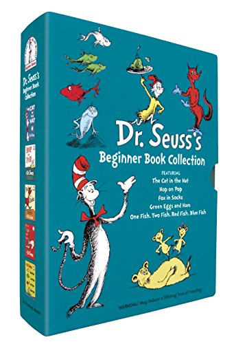 9780375851568: Dr. Seuss's Beginner Book Collection 1: The Cat in the Hat / One Fish, Two Fish, Red Fish, Blue Fish / Green Eggs and Ham / Hop on Pop / Fox in Socks