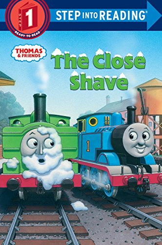 9780375851803: Thomas and Friends: The Close Shave (Thomas & Friends) (Step into Reading)