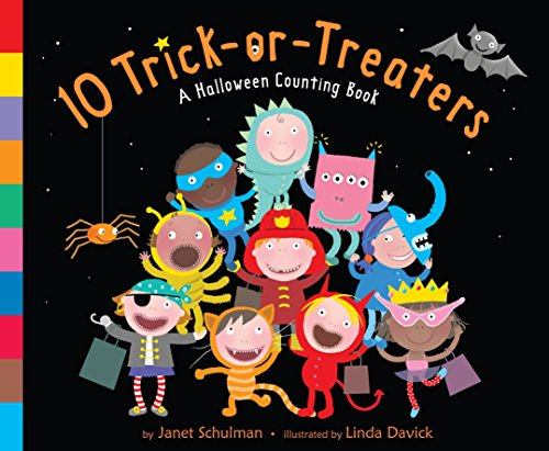 9780375853470: 10 Trick-Or-Treaters: A Halloween Counting Book