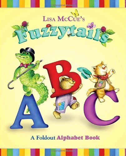 Fuzzytails ABC: A Foldout Alphabet Book (0375854185) by Lisa McCue