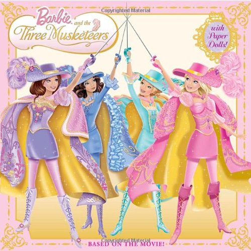 9780375854460: Barbie and the Three Musketeers (Barbie) (Pictureback(R))
