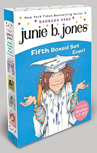 9780375855702: Junie B. Jones Fifth Boxed Set Ever! [With Collectible Stickers]