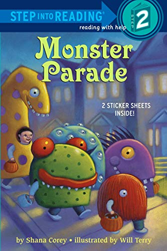 9780375856389: Monster Parade [With Sticker(s)] (Step Into Reading)