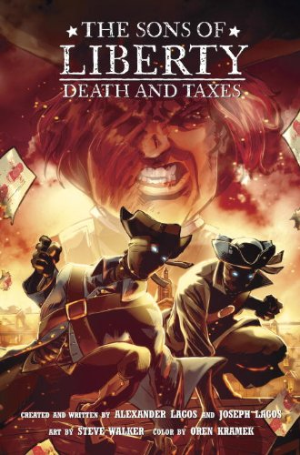 9780375856686: The Sons of Liberty Book 2: Death and Taxes