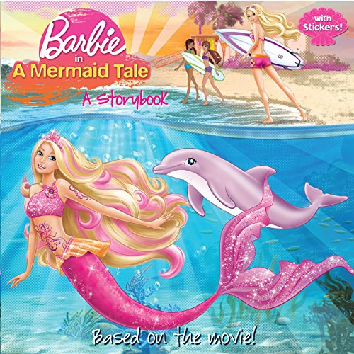 9780375857355: Barbie in a Mermaid Tale: A Storybook [With Sticker(s)]