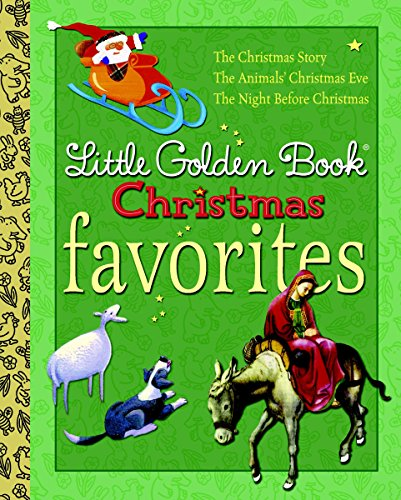 Little Golden Book Christmas Favorites (Little Golden Book Favorites) (0375857788) by Werner, Jane; Moore, Clement C.; Wiersum, Gale