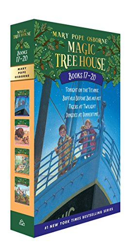 9780375858116: Magic Tree House Volumes 17-20 Boxed Set: The Mystery of the Enchanted Dog