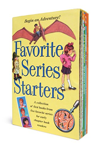 Favorite Series Starters Boxed Set: A collection of first books from five favorite series for early chapter book readers (0375858342) by Various; Mary Pope Osborne; Barbara Park; Ron Roy; Marjorie Weinman Sharmat