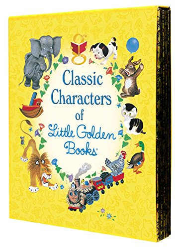 9780375859342: Classic Characters of Little Golden Books: The Poky Puppy, Tootle, the Saggy Baggy Elephant, Tawny Scrawny Lion, Scruffy the Tugboat