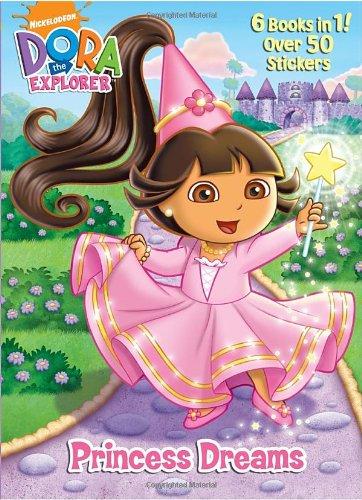 Princess Dreams (Dora the Explorer) (Jumbo Coloring Book): Golden Books