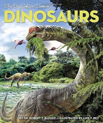 9780375859588: The Big Golden Book of Dinosaurs
