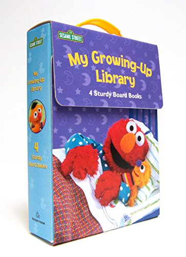 9780375859847: My Growing-Up Library: Sesame Street Board Books- Too Big for Diapers / Big Enough for a Bed / Too Big for Bottles / Big Enough for a Bike