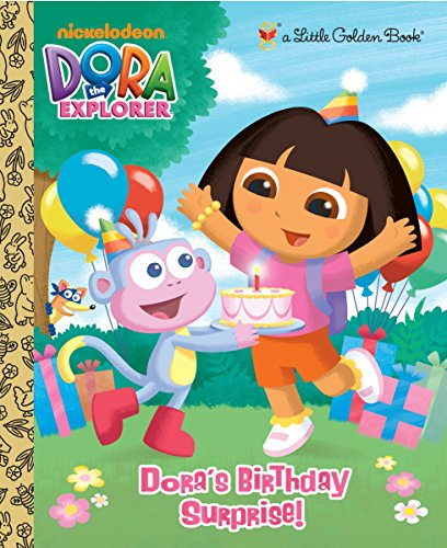 9780375861635: Dora's Birthday Surprise! (Little Golden Books)
