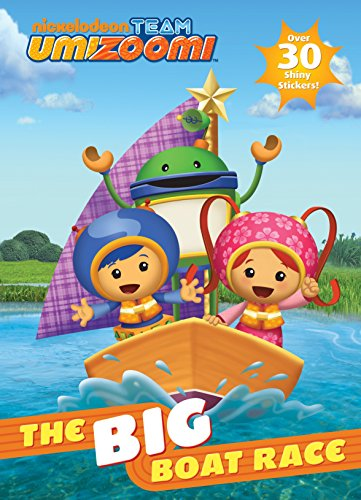 9780375862151: Team Umizoomi: The Big Boat Race!