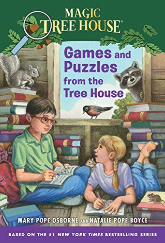9780375862168: Magic Tree House: Games and Puzzles from the Tree House (Stepping Stone Books (Paperback))