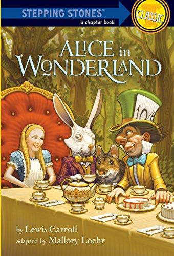 9780375866418: Alice in Wonderland (Stepping Stones: Classic)