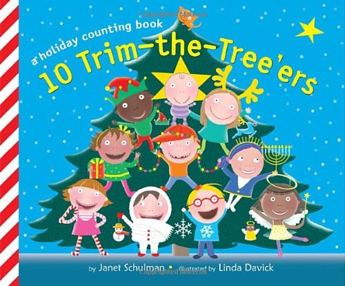 9780375866586: 10 Trim-the-Tree'ers: A Holiday Counting Book