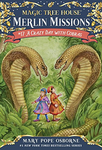 9780375867958: A Crazy Day with Cobras (Magic Tree House (R) Merlin Mission)