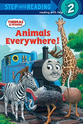 9780375868122: Animals Everywhere! (Step Into Reading. Step 2)