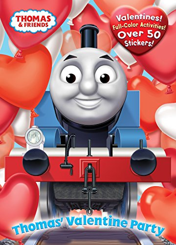 Thomas' Valentine Party (Thomas & Friends) (Full-Color Activity Book with Stickers): Awdry...