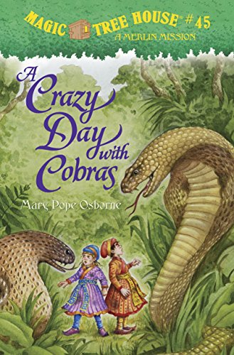 9780375868238: A Crazy Day with Cobras (Magic Tree House (R) Merlin Mission)