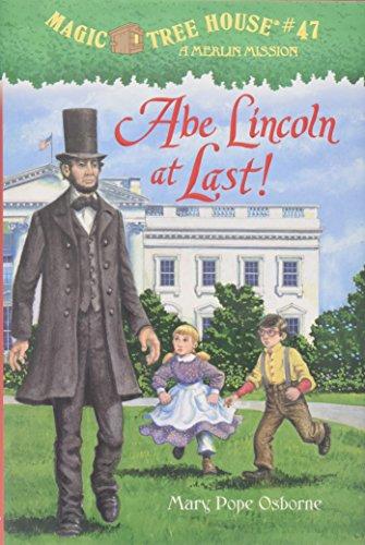 9780375868252: Abe Lincoln at Last! (Magic Tree House)