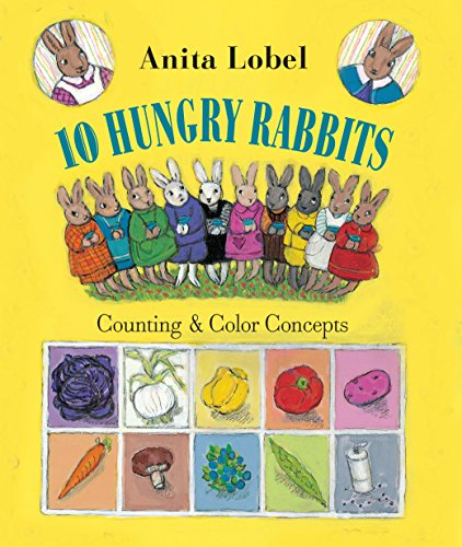 9780375868641: 10 Hungry Rabbits: Counting & Color Concepts