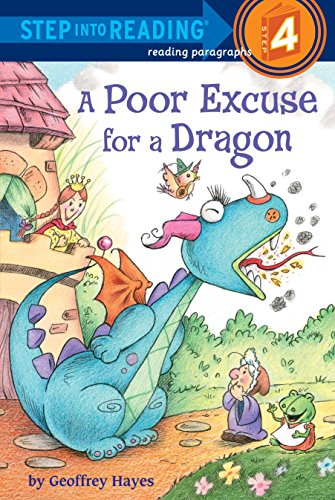 9780375868672: A Poor Excuse for a Dragon (Step into Reading)