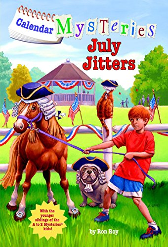 9780375868825: Calendar Mysteries #7: July Jitters (A Stepping Stone Book(TM))