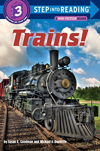 9780375869419: Trains! (Step into Reading)