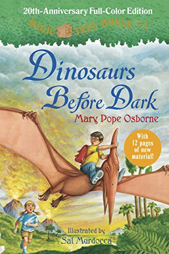 9780375869884: Dinosaurs Before Dark (Full-Color Edition) (Magic Tree House (R))