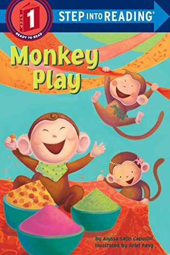 9780375869938: Monkey Play (Step into Reading)