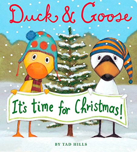 9780375871122: Duck & Goose, It's Time for Christmas! (Oversized Board Book)