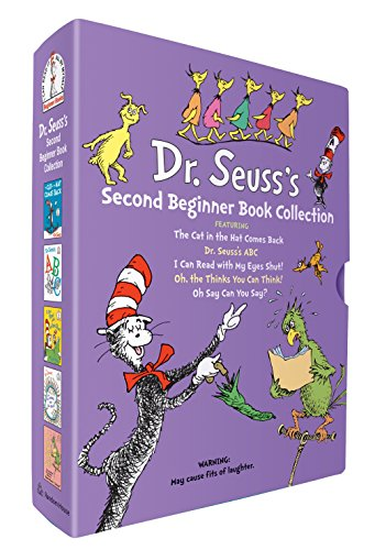 9780375871283: Dr. Seuss Beginner Book Collection 2: Oh, the Thinks You Can Think / The Cat in the Hat Comes Back / Oh Say Can You Say? / Dr. Seuss's ABC / I Can Read with My Eyes Shut!