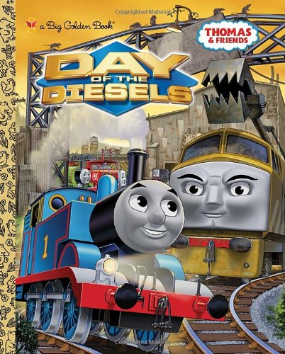 9780375871818: Day of the Diesels (Thomas & Friends) (Big Golden Book)