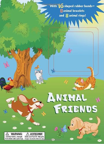 9780375871832: Animal Friends [With 16 Shaped Rubber Bands]