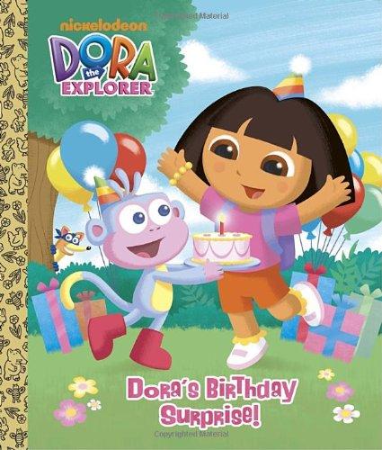 9780375872464: Dora's Birthday Surprise! (Dora the Explorer) (Big Golden Board Book)