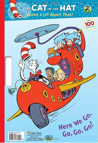 9780375873973: Here We Go, Go, Go, Go! (Dr. Seuss/Cat in the Hat) (Giant Coloring Book)