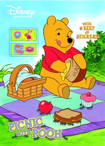 Picnic with Pooh (Color Plus Sticker Roll): RH Disney, Disney Storybook Artists