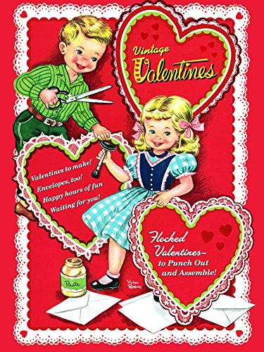 Vintage Valentines (Press Out Book): Golden Books