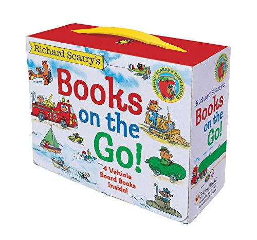 9780375875229: Richard Scarry's Books on the Go