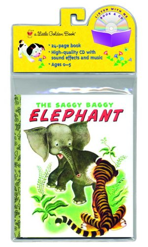 The Saggy Baggy Elephant (Little Golden Book: Kathryn Jackson; Byron