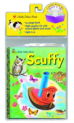 9780375875373: Scuffy the Tugboat (Little Golden Book & CD)
