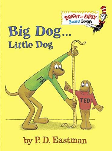 9780375875397: BandE Board Bk: Big Dog...Little Dog (Bright and Early Board Books)